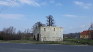 Łomnicka Hala Mleczna | Ruiny starej Hali